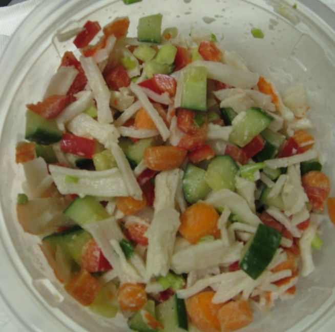 Imitation Crab Salad - Kosher In The Kitch!