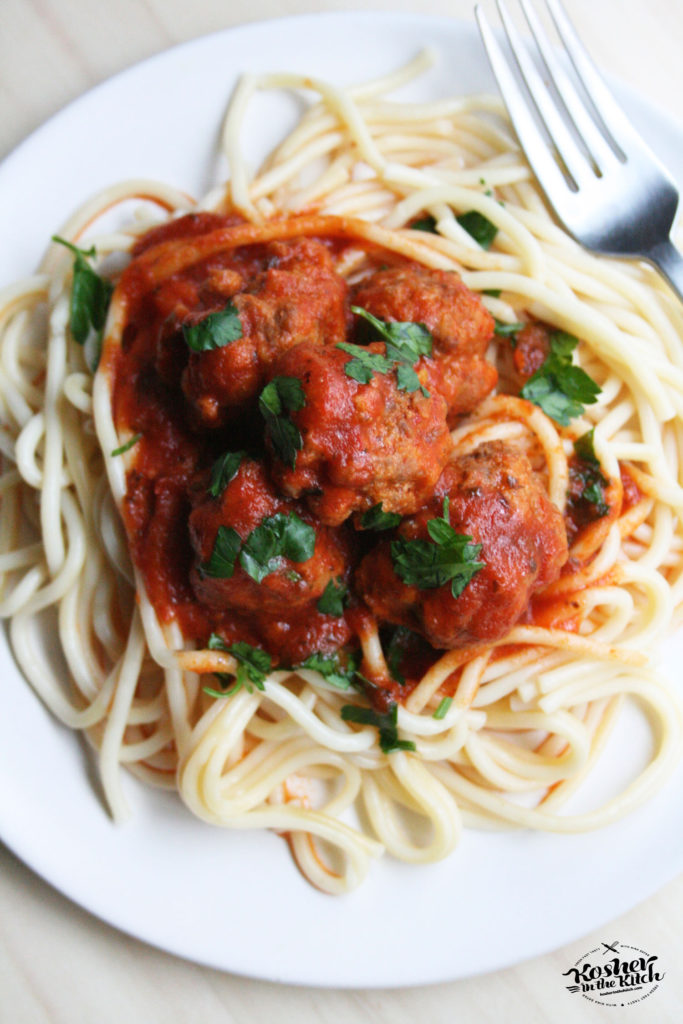 Lazy NO FUSS Easy Meatballs