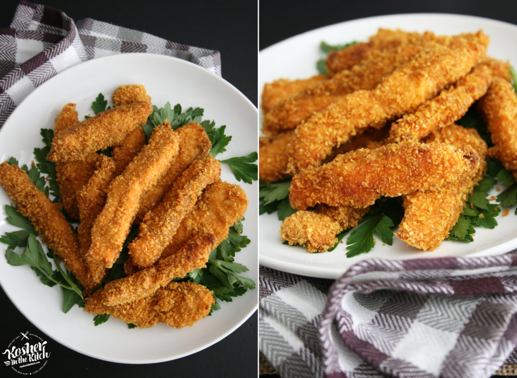 Crispy Salmon Sticks