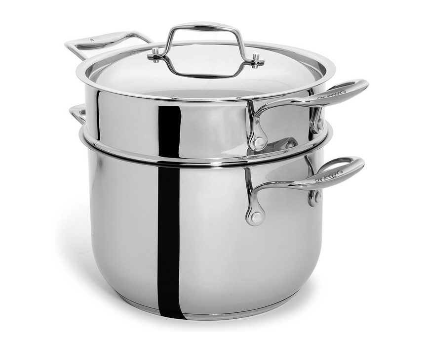 6 Quart Pasta Pot with Lid and Insert