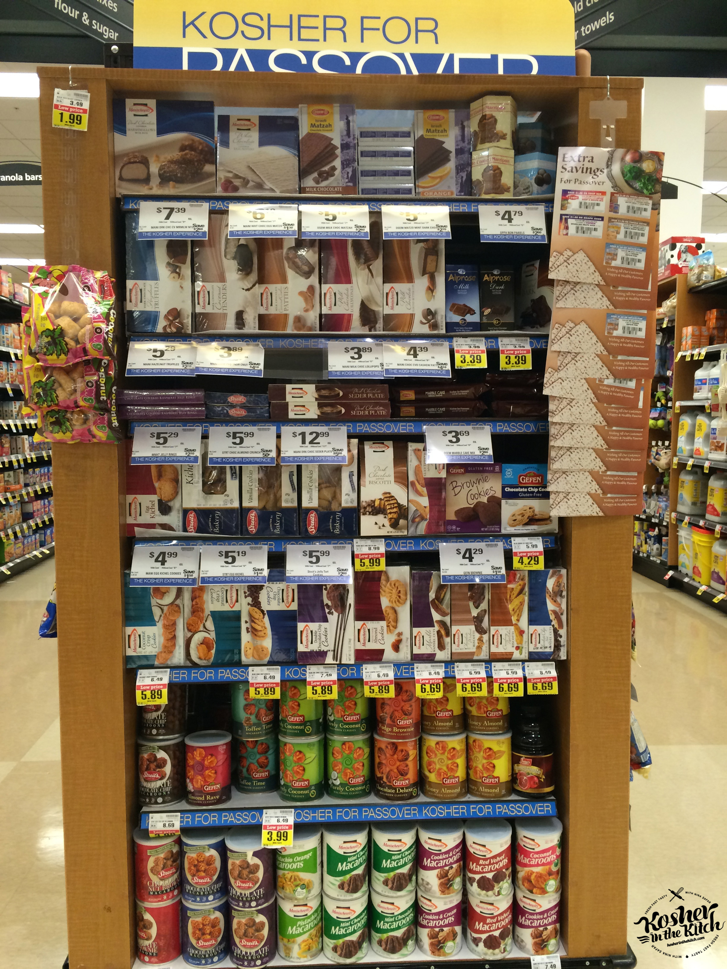 Kosher products for Passover at Ralphs