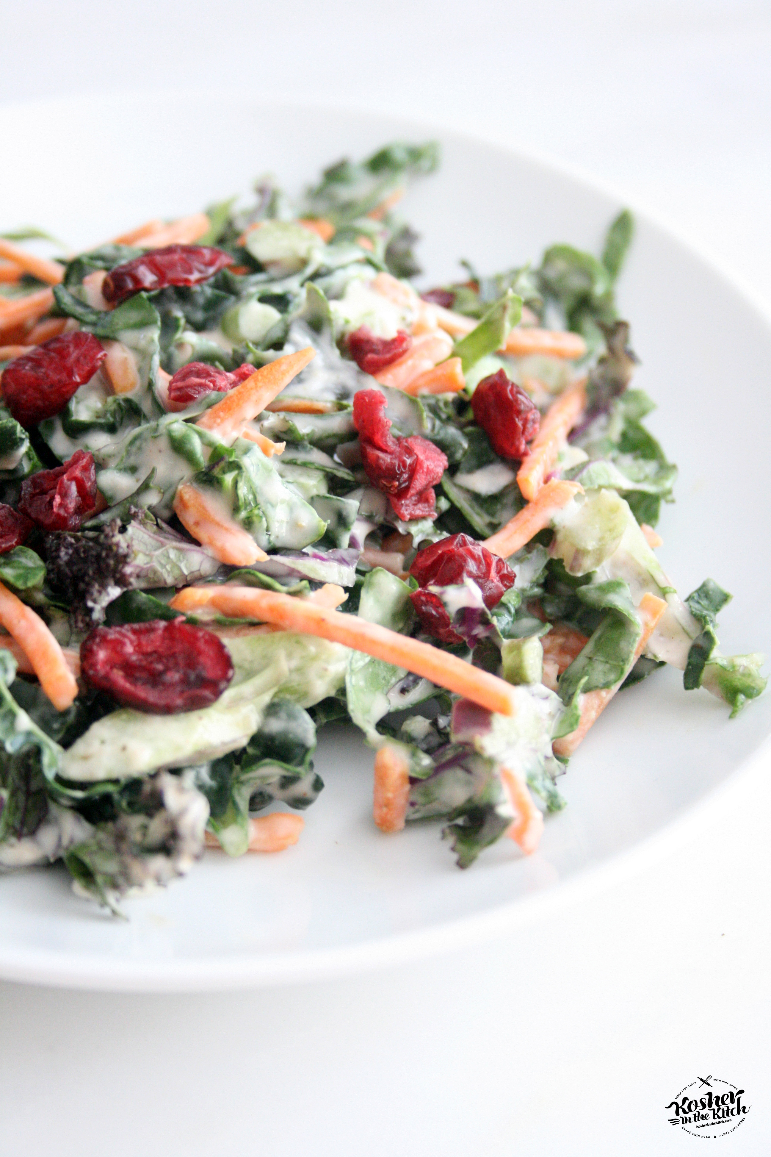 how to make cooked kale salad