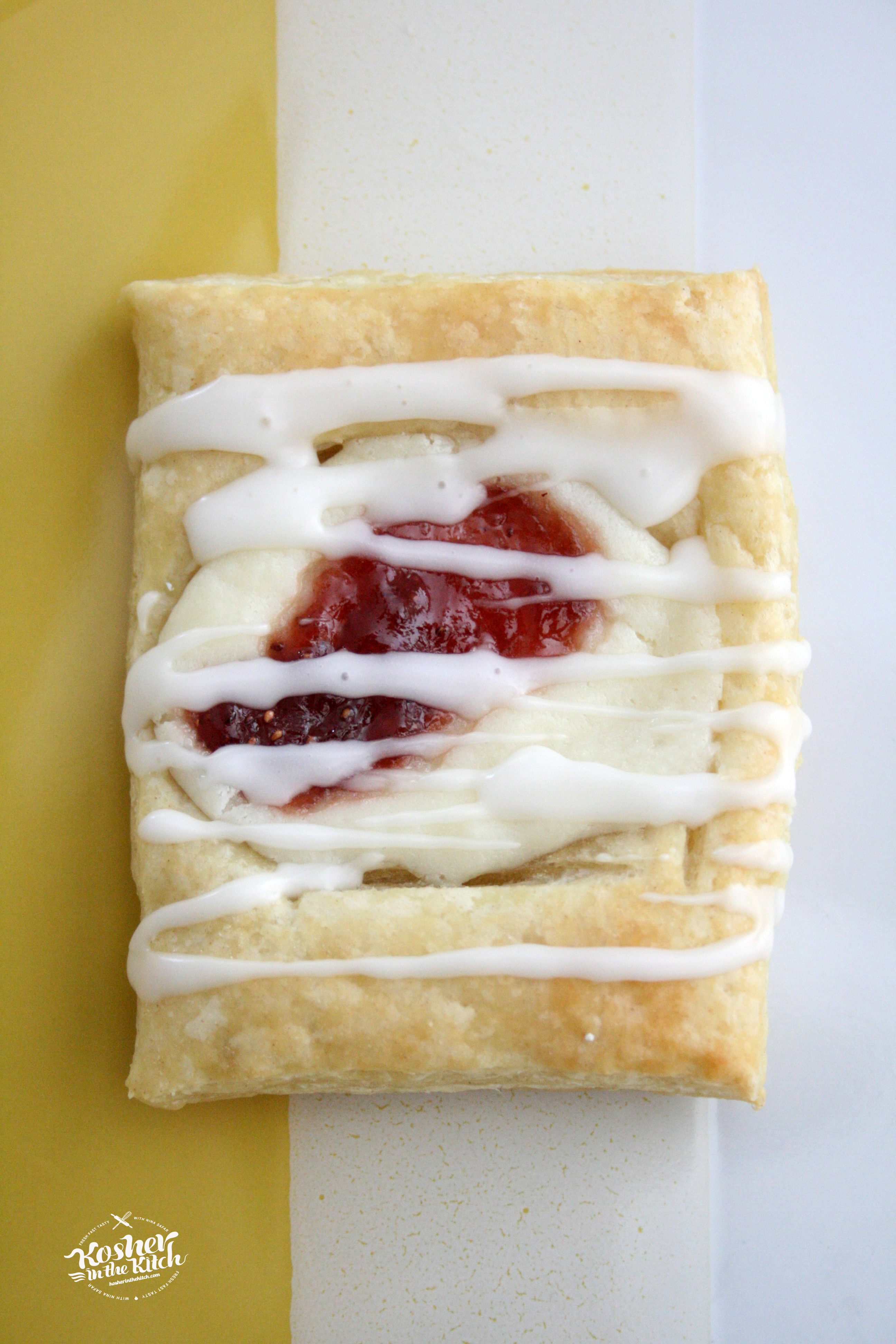 Easy Strawberry Cheese Danish