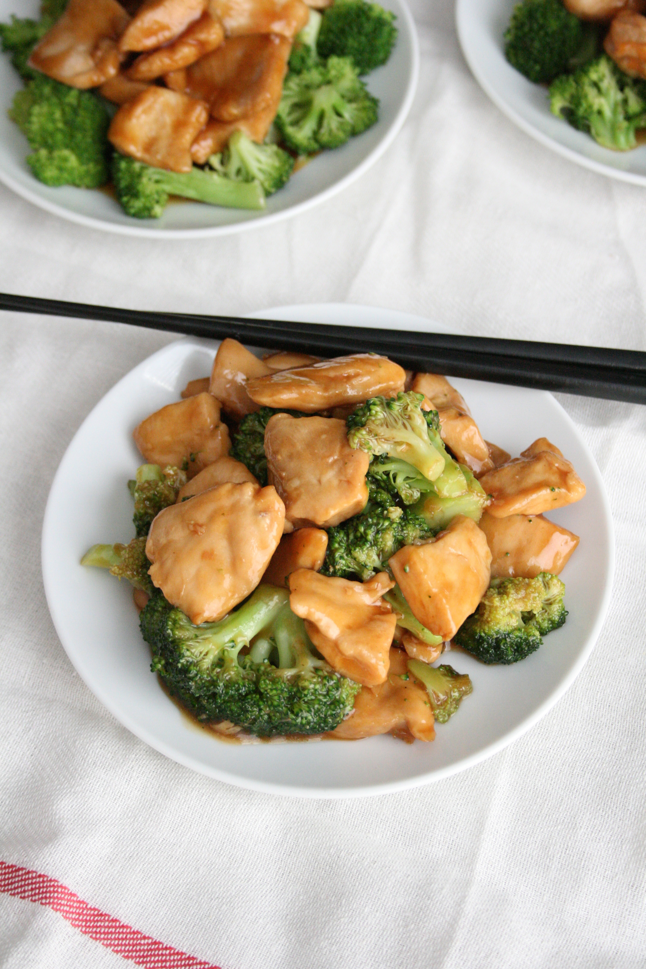 Rush Hour Chicken & Broccoli Stir Fry