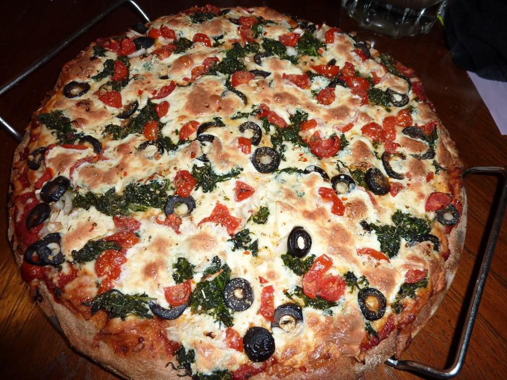 Whole Wheat Veggie Pizza on a Stone - Kosher In The Kitch!