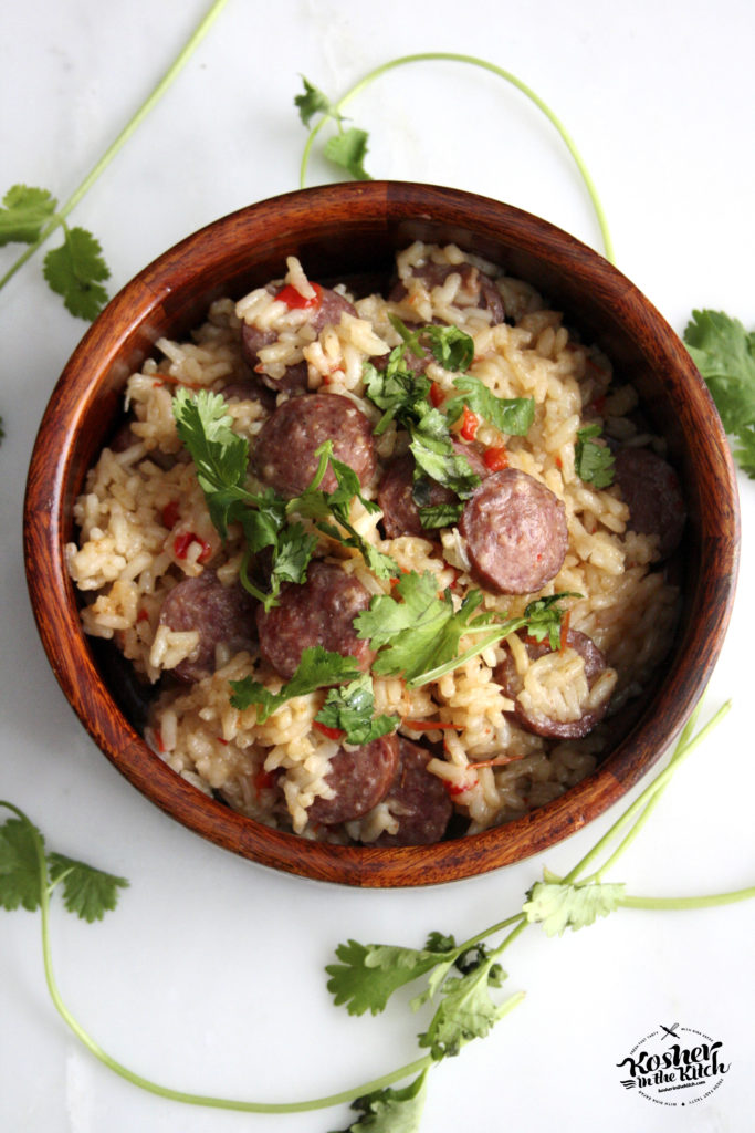 Cajun Sausage Rice Bowl