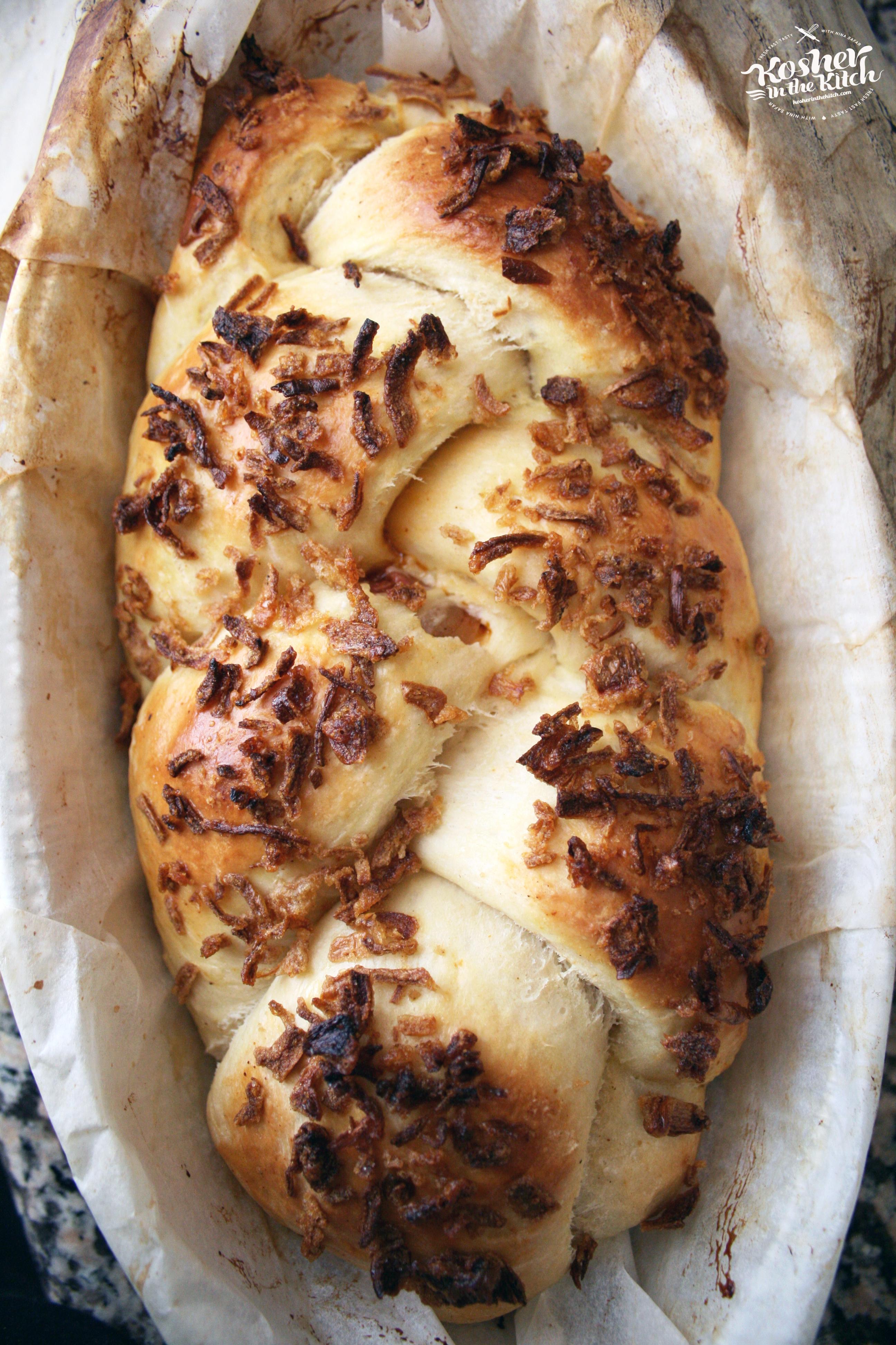 BBQ Pastrami Stuffed Challah