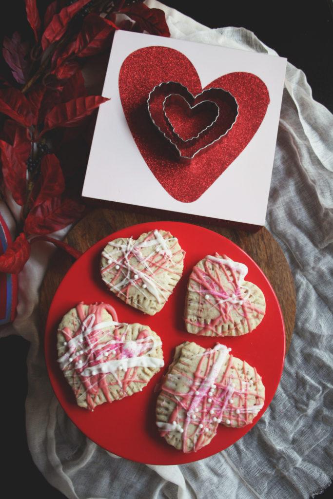 Vegan Heart Pop Tarts