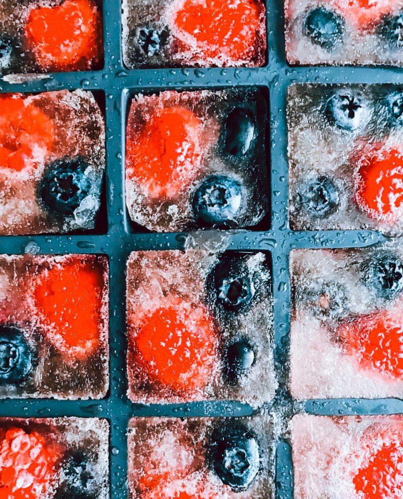 Sangria Ice Cubes