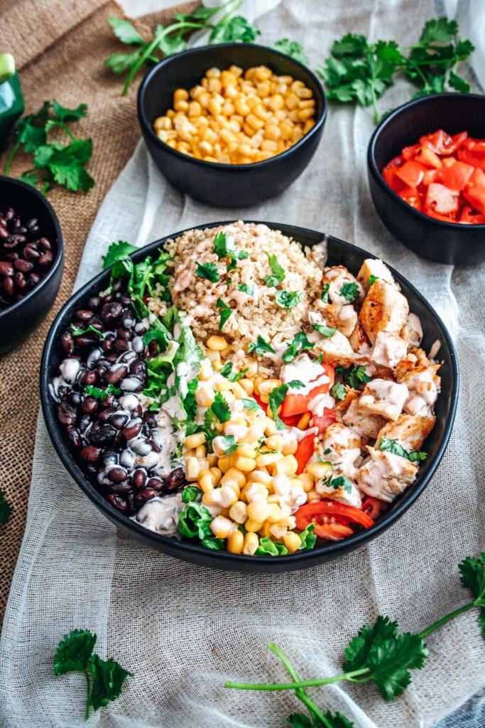 Chicken Taco Rice Bowl