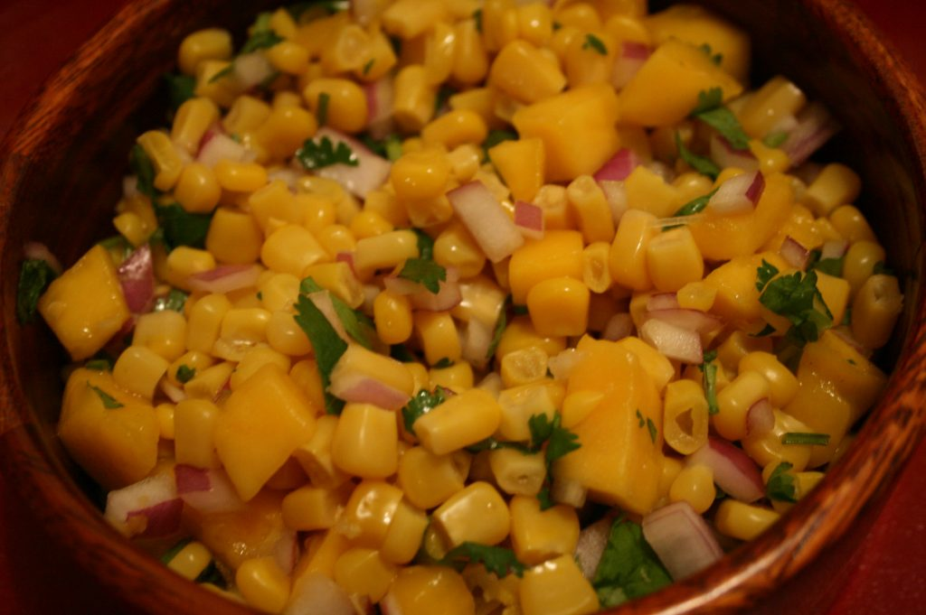 Mango Corn Salad