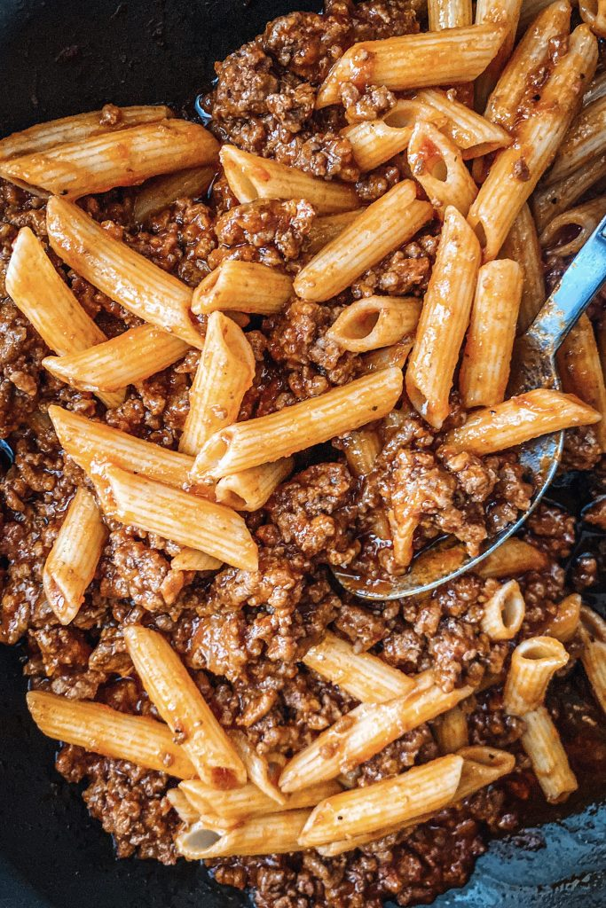 Meat Sauce with Pasta