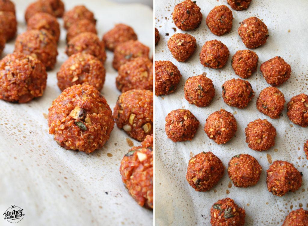 Quinoa Meatballs