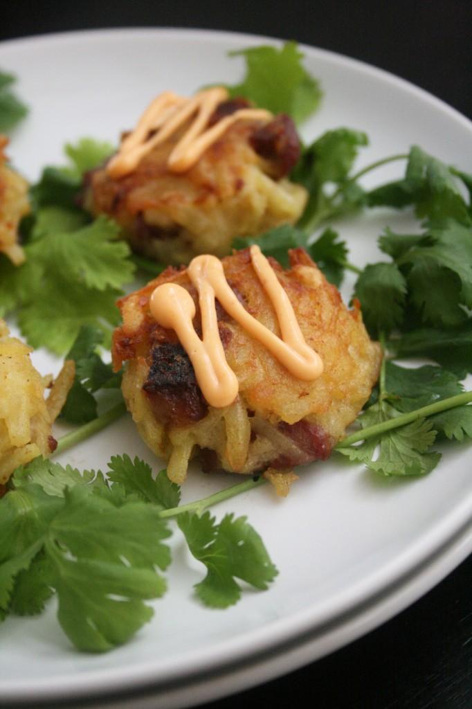 sausage latke, best latkes