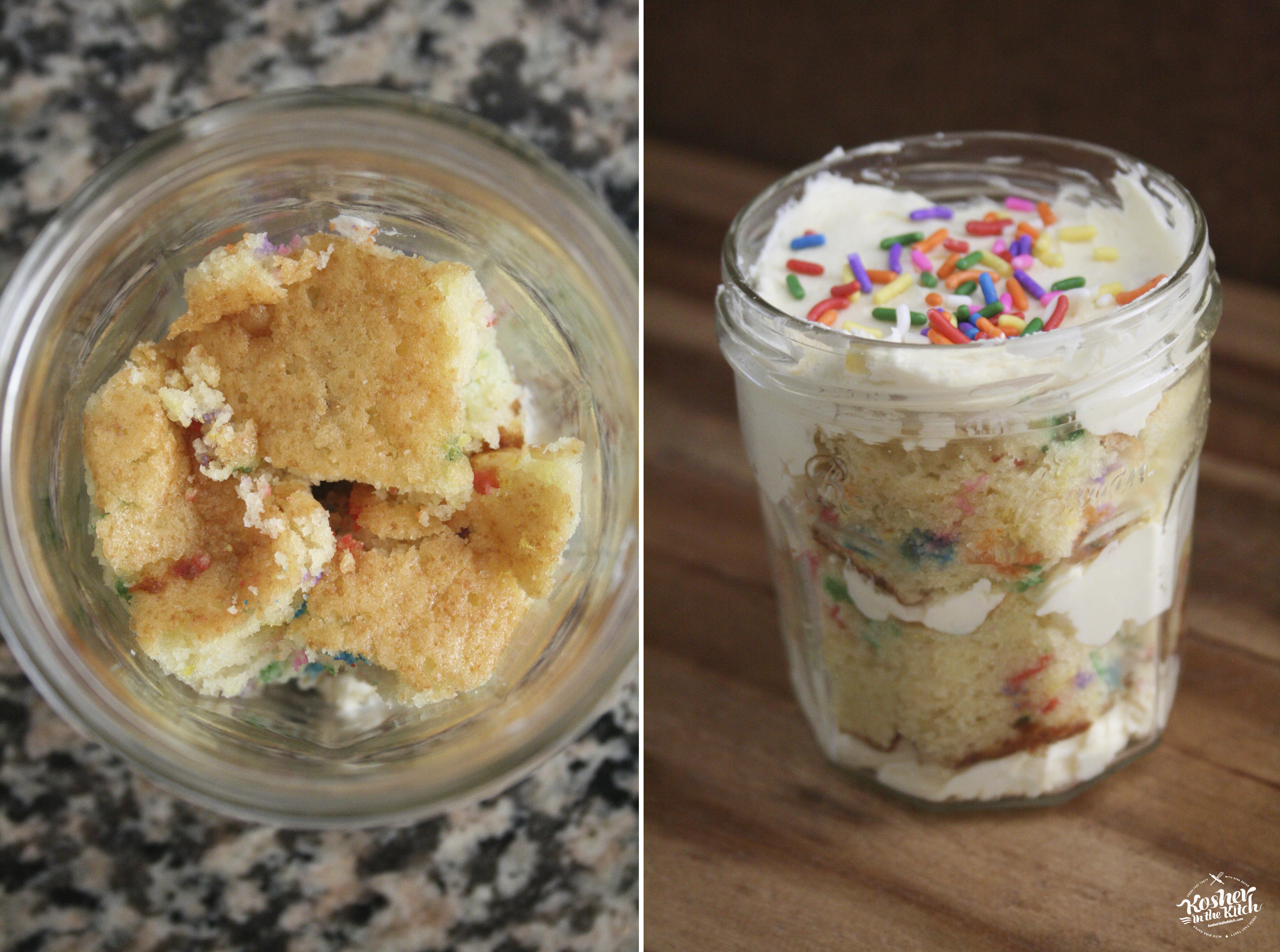 Funfetti Cake in a Jar