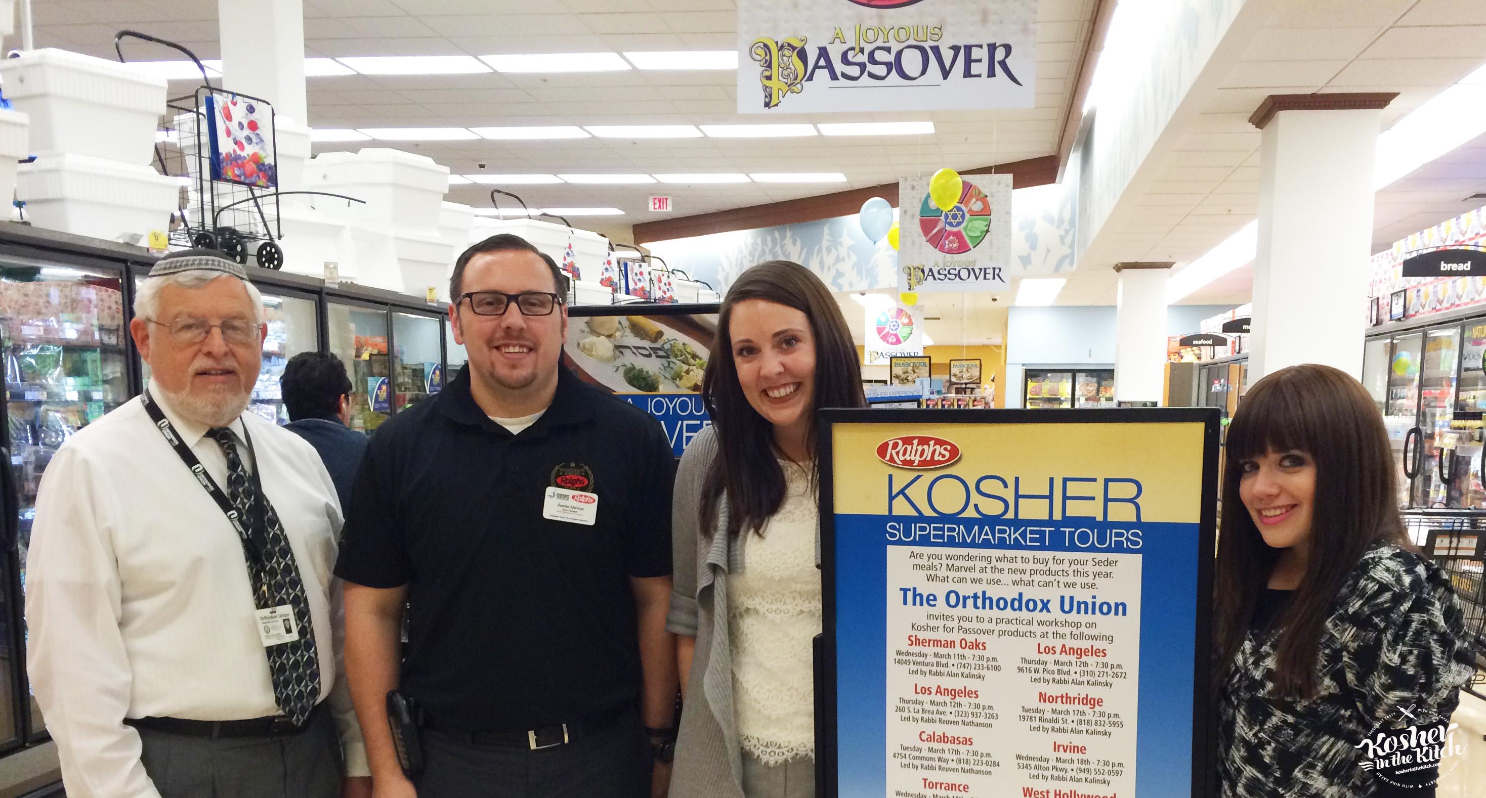 Ralph's Kosher Passover Tour
