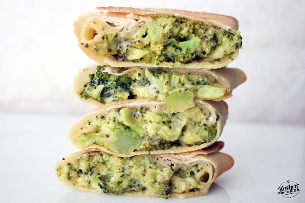 Broccoli Cheddar Egg Rolls
