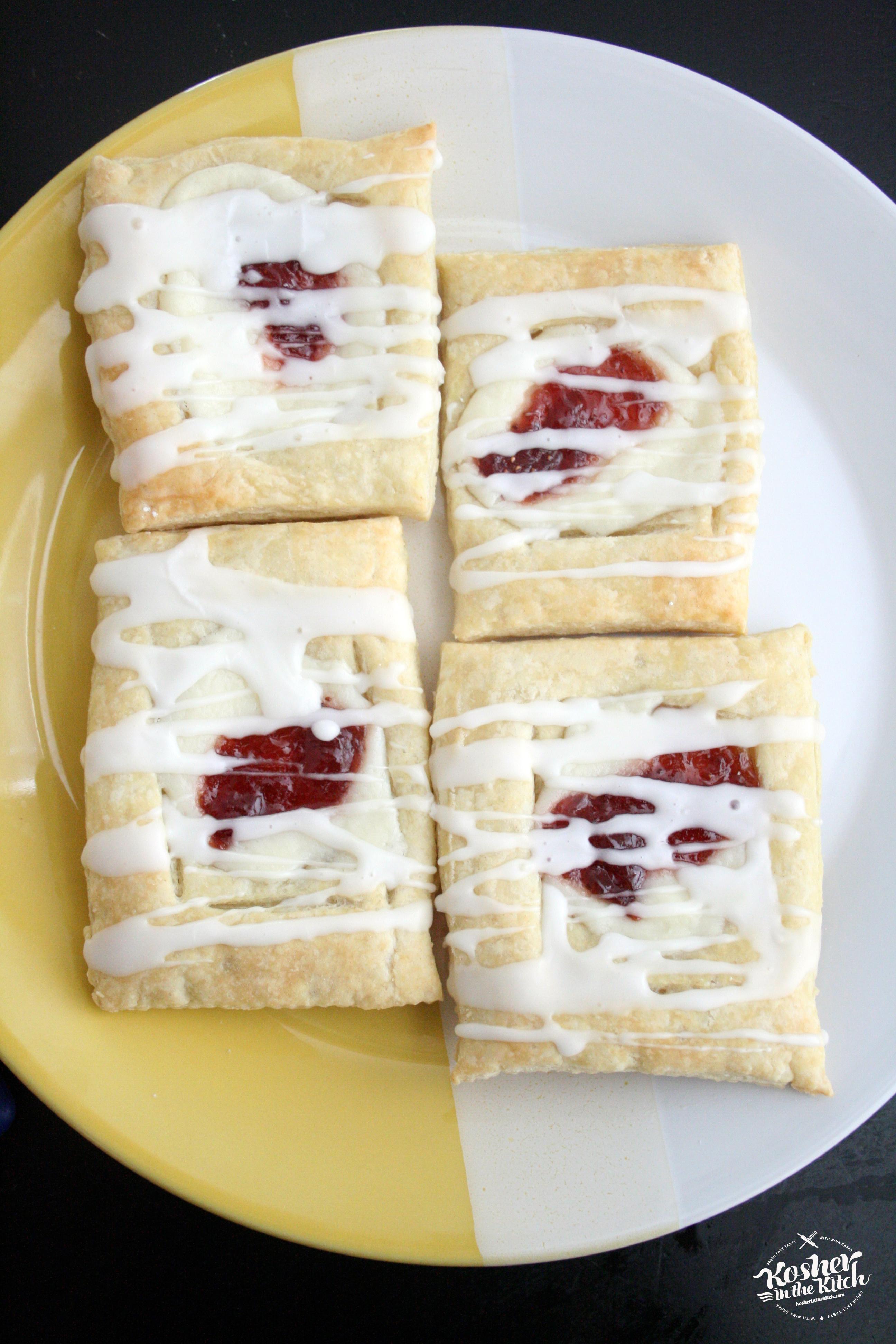 Easy Strawberry Cheese Danish