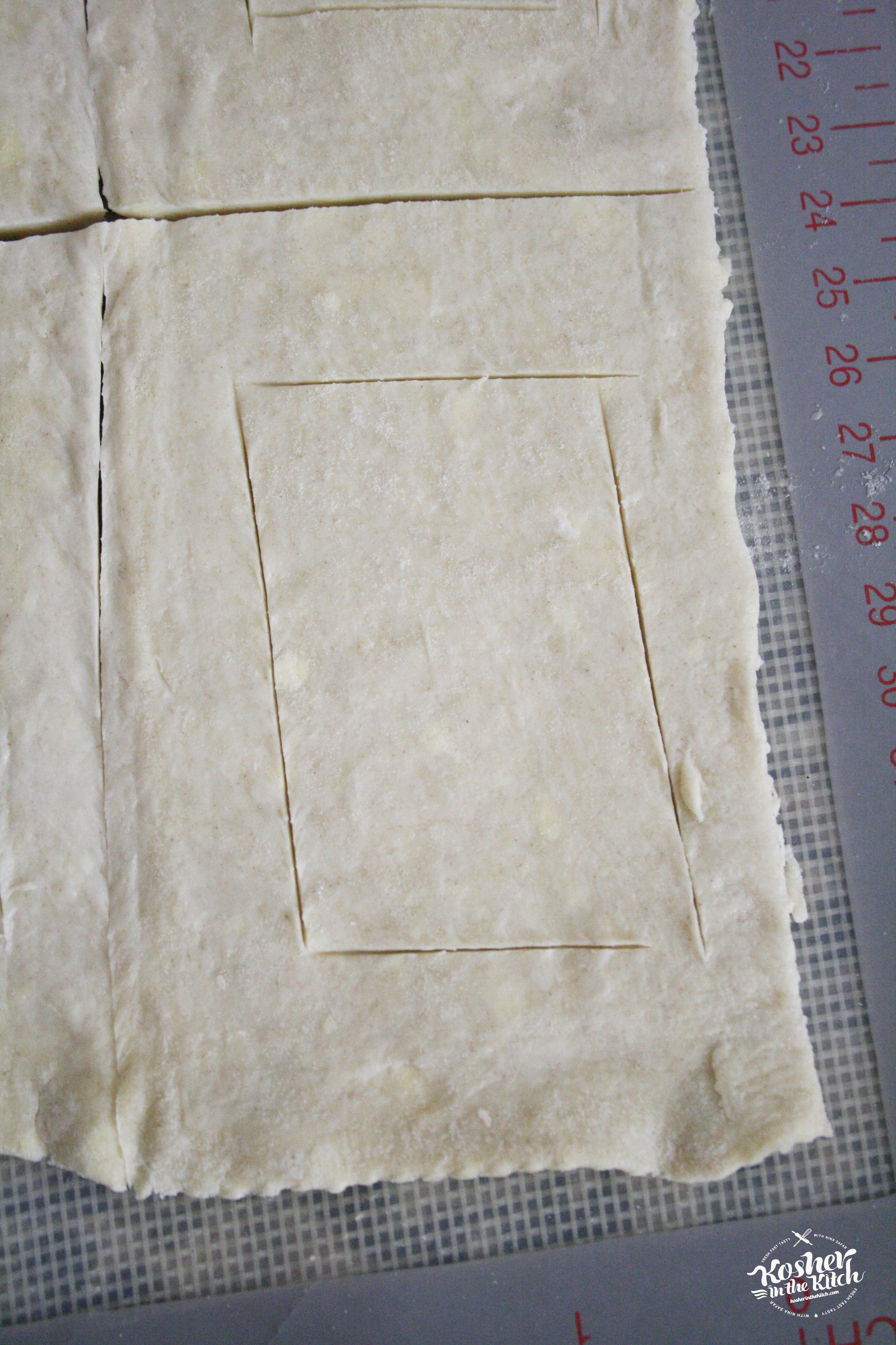 Lightly Trace Mini Rectangle within the Rectangle