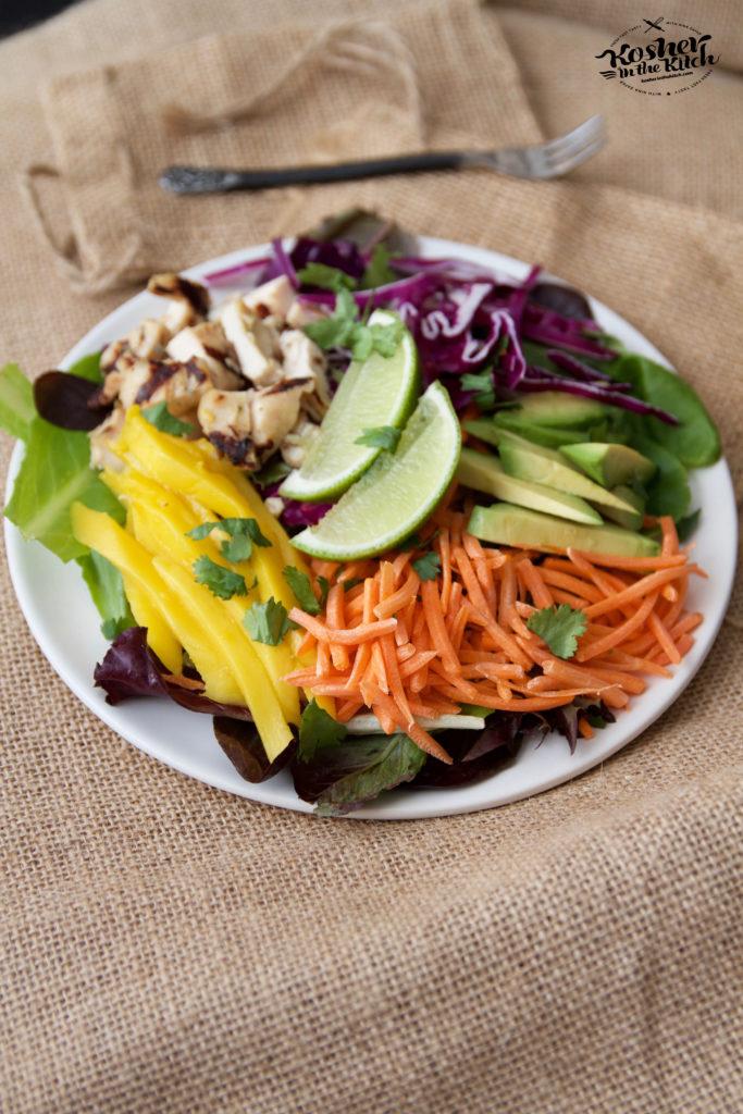 Chicken Rainbow Salad