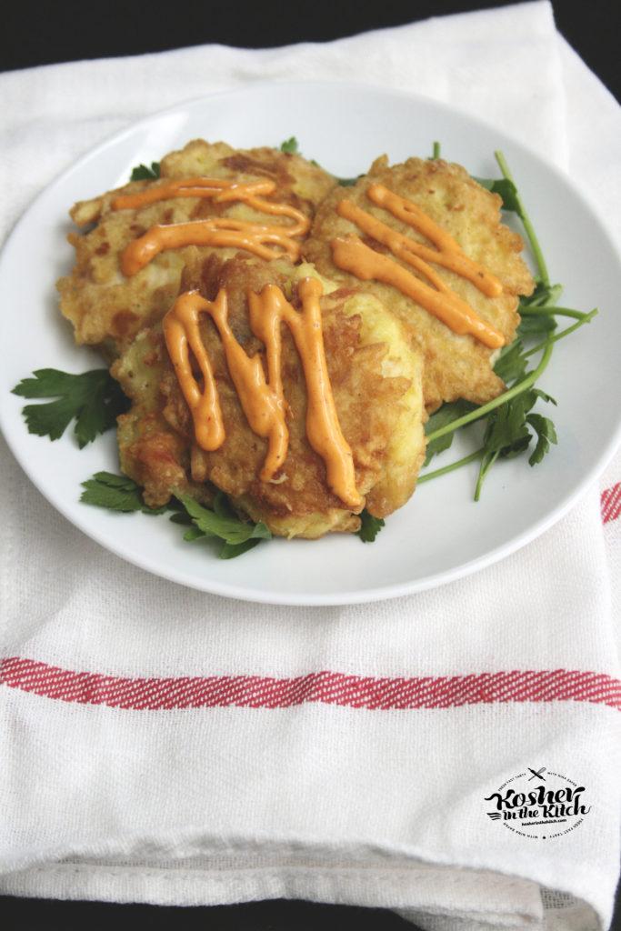 Latke Coated Schnitzel