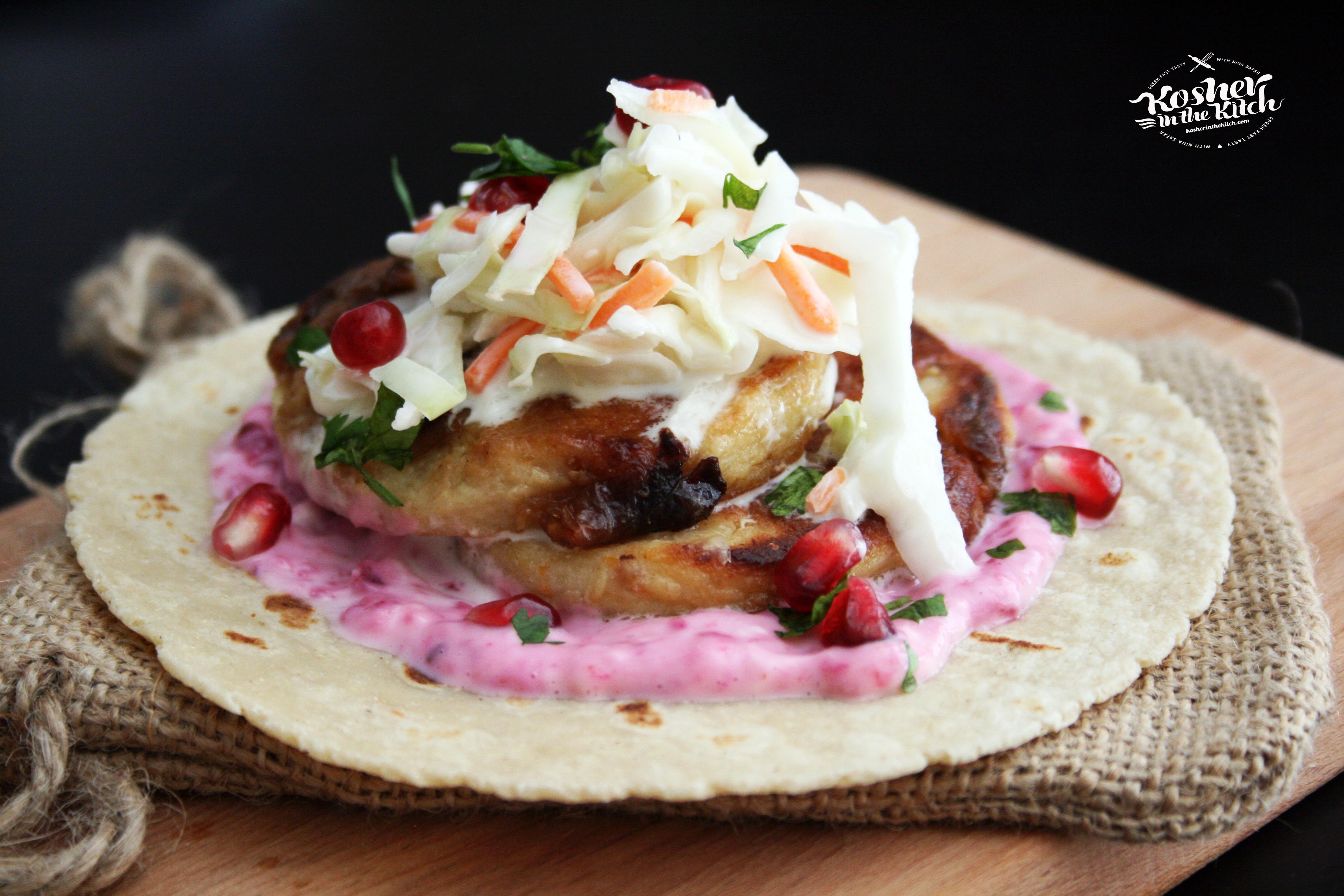 Gefilta Fish Tacos