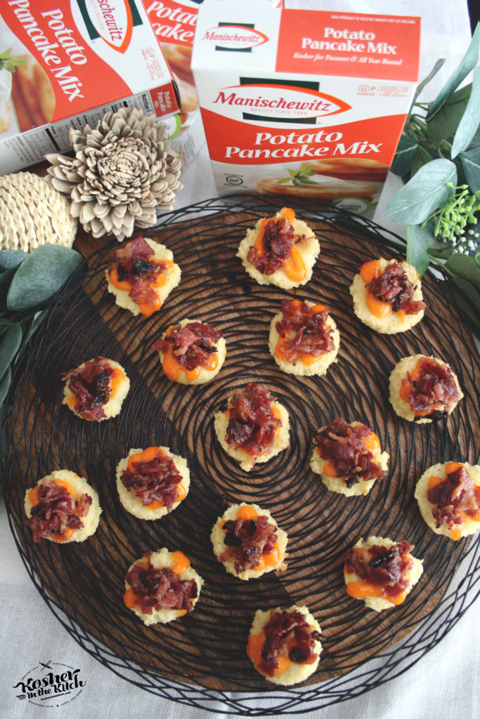 "Potato Kugel Muffins with Candied ""Bacon"" Bits"