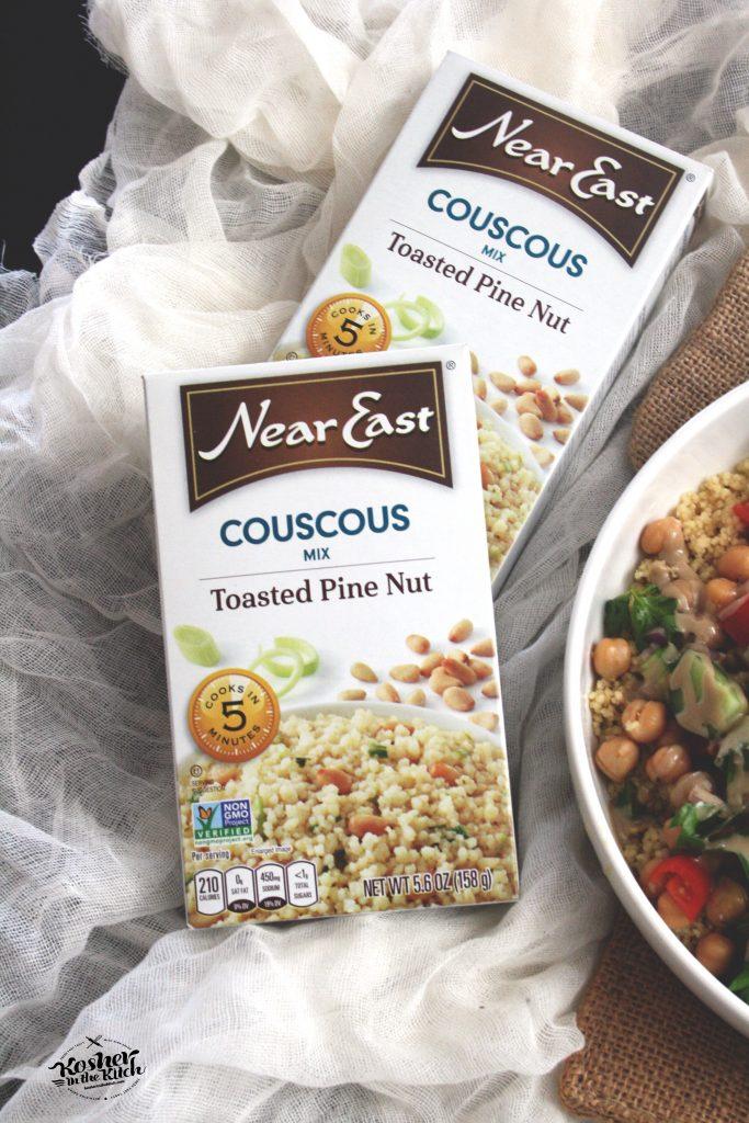 Mediterranean Couscous Salad